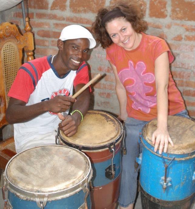 Alisbey and Tobin, Cuba, 2011,