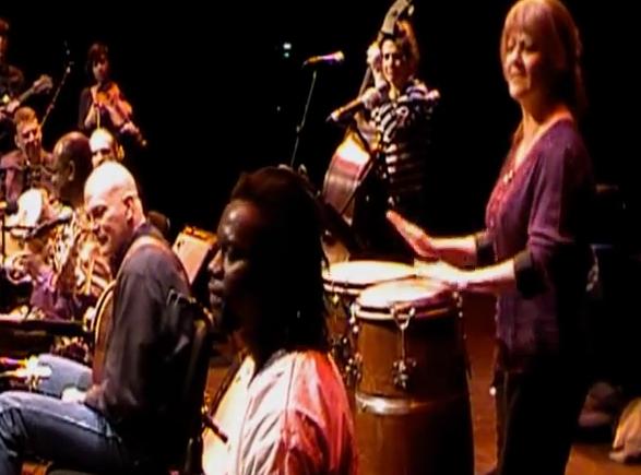 Tobin drumming, Roanoke, 2015