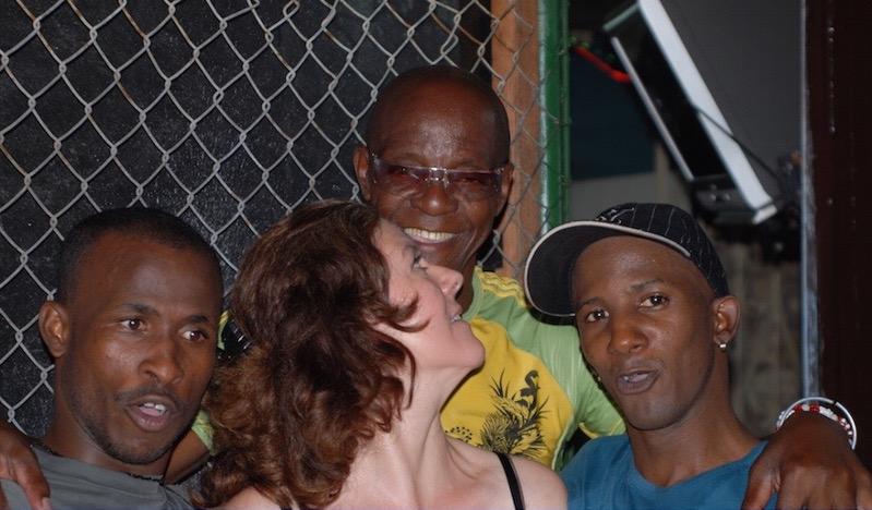 Rumberos and Tobin at EGREM, Cuba 2012