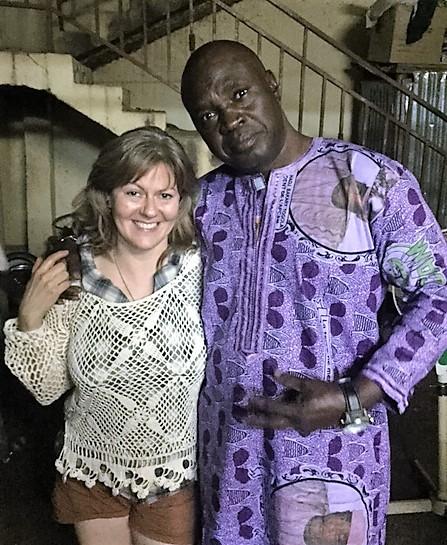 Tobin and Solo Tounkara, Bamako, Mali,
