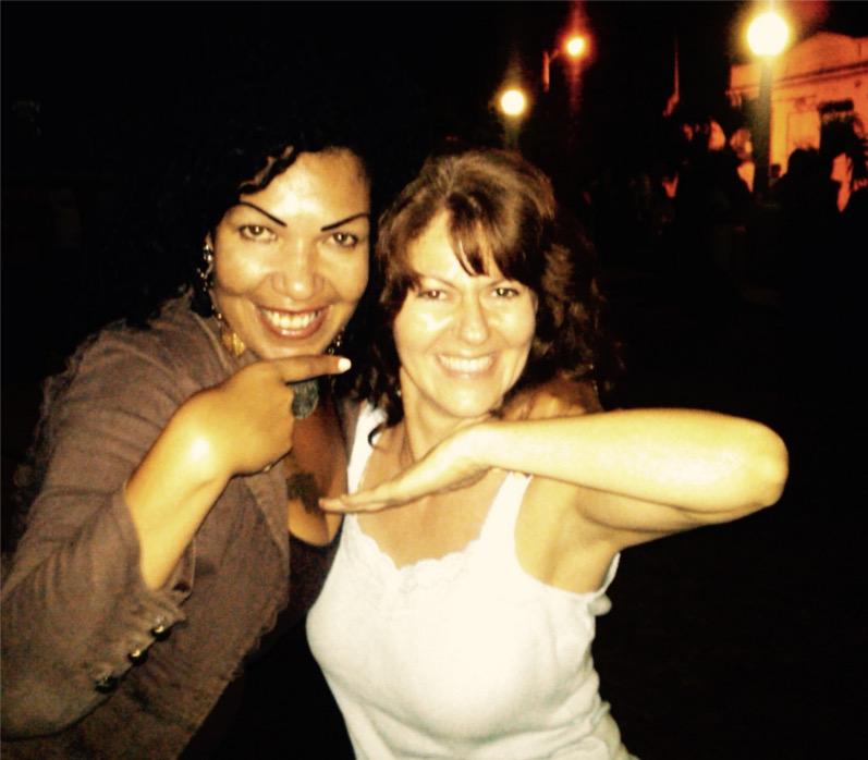 Yudiani and Linette Tobin, Cuba, 2013.